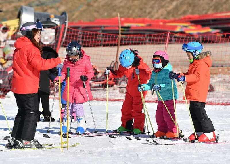 """北京诞生""""全教学滑雪场"""",欲破解滑雪客人转化率低的行业难题"""