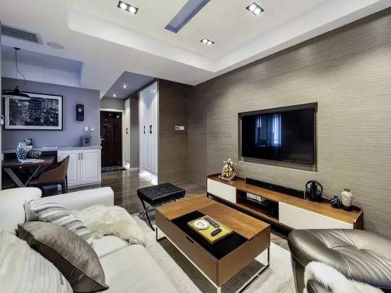 朋友买的120平米三居室,一共才花12万,这现代风格太美了!