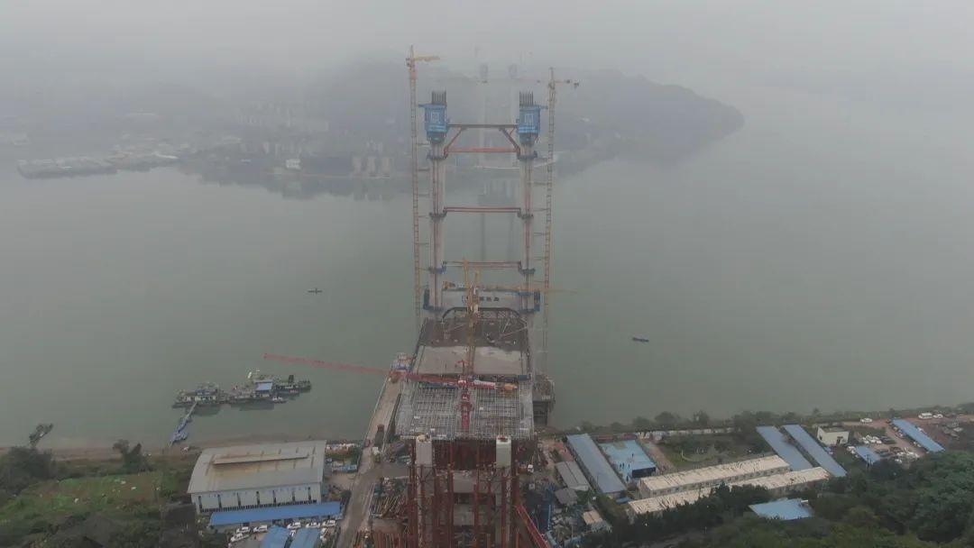 【看区县】郭家沱长江大桥新进展,预计后年通车图片