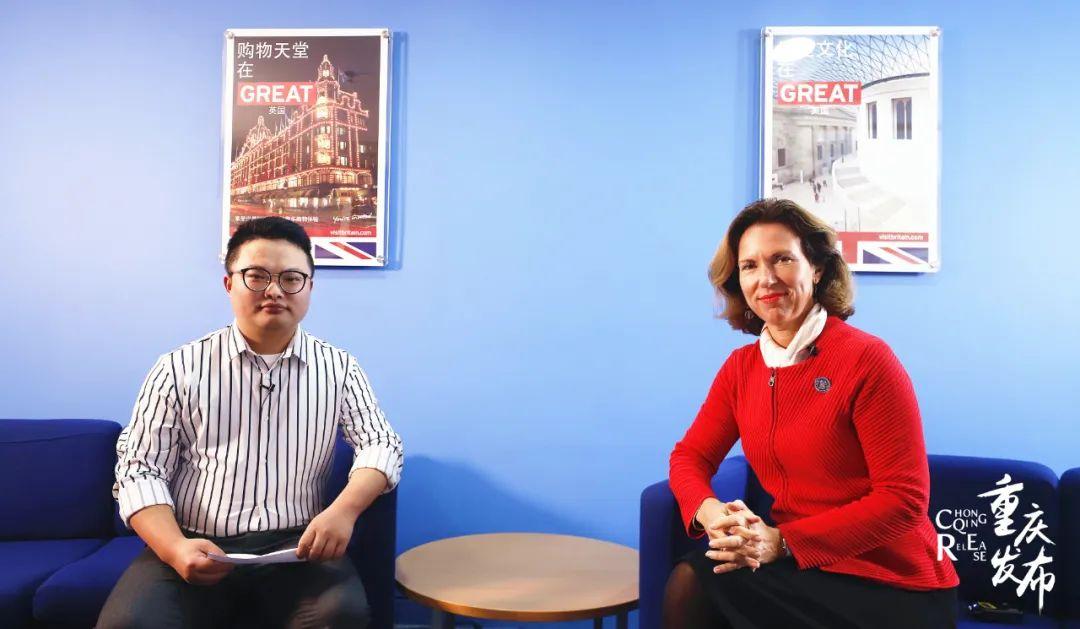 对话大咖丨英国驻华大使吴若兰:前沿技术、人文交流对两地来说很重要图片