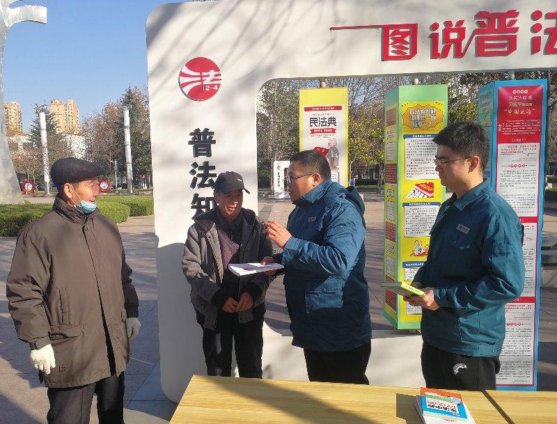"""智圣~沭河~巨峰线路工程开展""""12·4国家宪法日""""活动"""