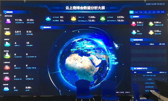 """【关注】太强了!""""云上南博会""""到底有多少新科技?抢鲜看→图片"""