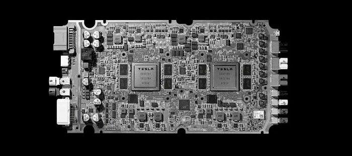 Autopilot Hardware 3.0芯片,图源特斯拉微博