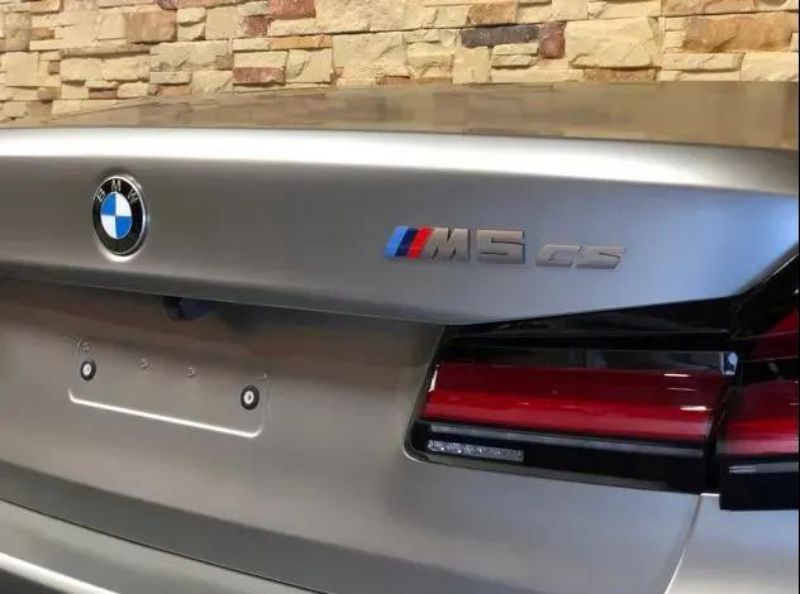 最速BMW即将到来 宝马M5 CS或将于12月发布