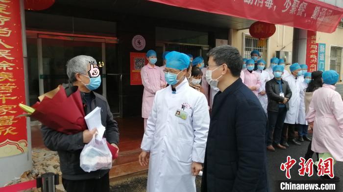 江西新冠肺炎患者治愈率达99% 1271名医务人员驰援湖北图片
