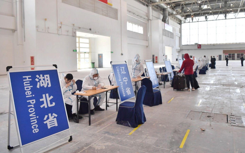 疫情防控重点防输入 北京启用新国展为入境人员集散点图片