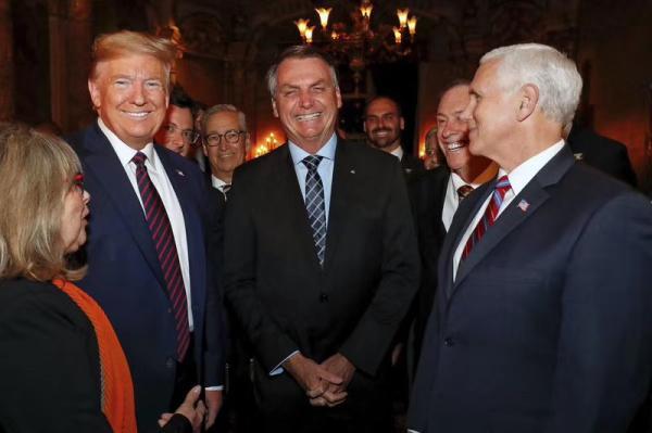 巴西总统确诊感染新冠病毒,3月7日曾与美国总统特朗普会晤