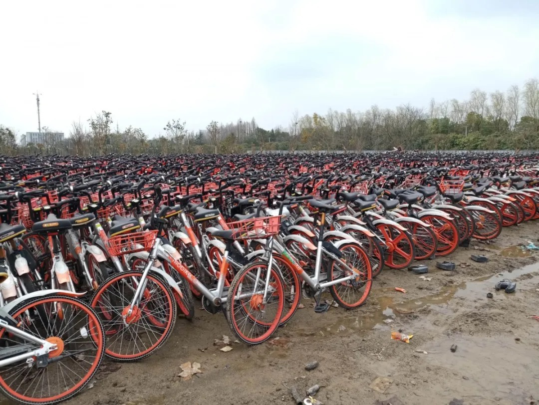 盗窃五千余辆共享单车,10名嫌疑人被南京警方控制图片