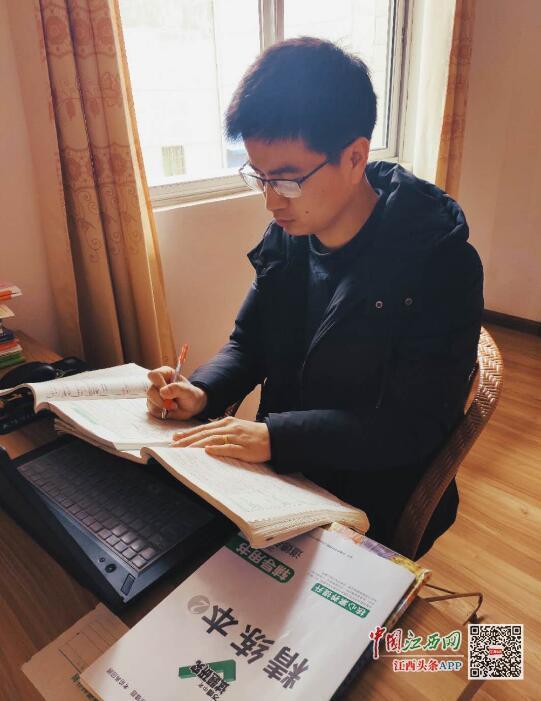 停课不停学,隔空不隔爱——记九江一中张帮改老师(图)