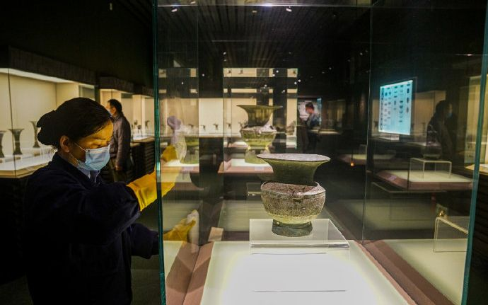 """全国博物馆陆续恢复""""营业"""" 广州成都等大馆下周开放图片"""