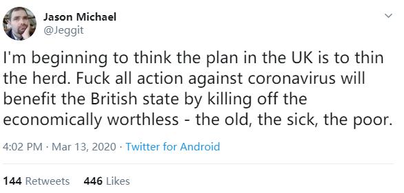 世卫组织:任何国家不应自暴自弃;网友:瑞典英国听到没!
