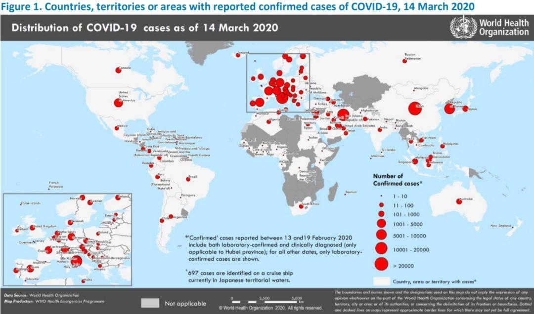 全球累计确诊15万