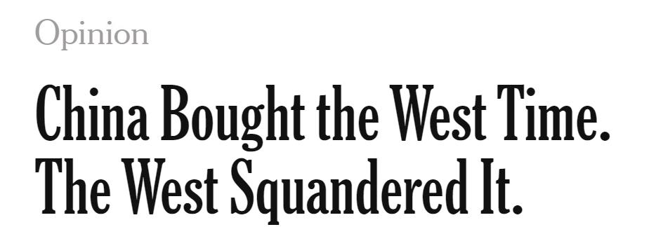 这次,为何《纽约时报》们又来给中国点赞?图片