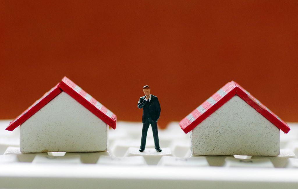 二线城市新房和二手房销售价格涨幅连续10个月回落图片