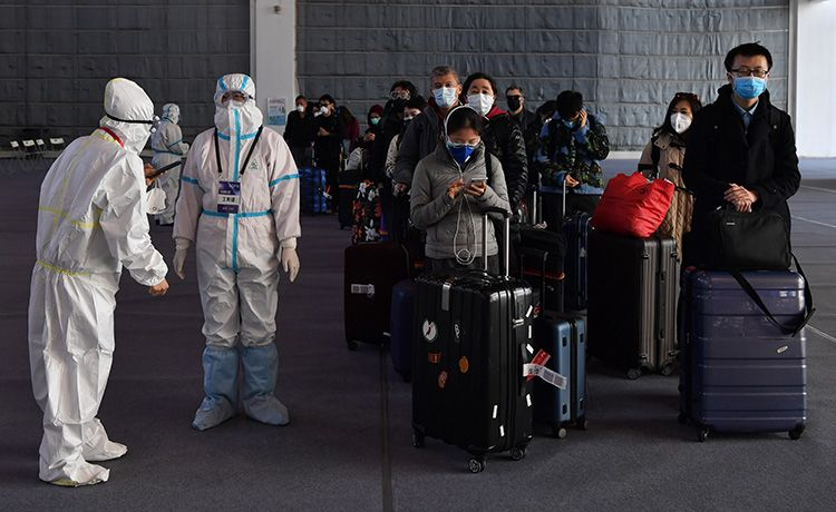 蓝冠,散地一周分流入境旅客蓝冠14595人|图片