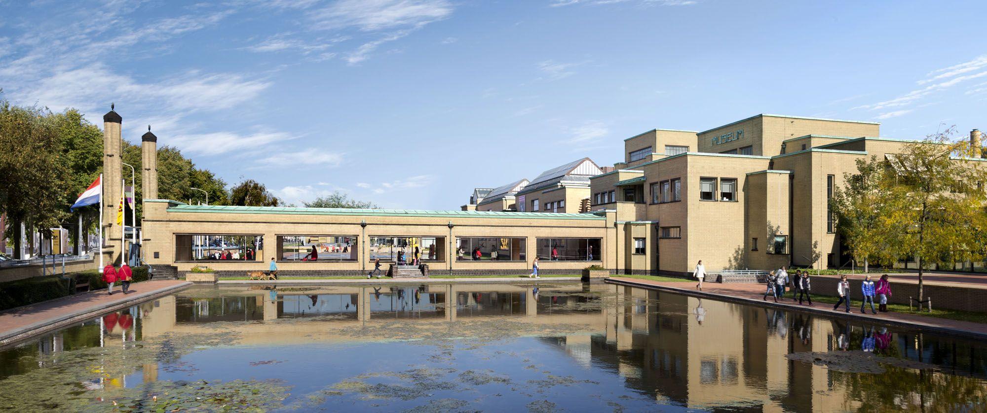 到此一游 海牙市立博物馆,有世界上最多的蒙德里安名作
