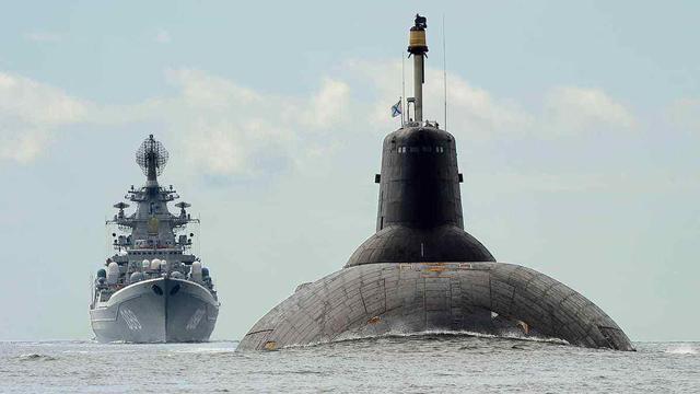 苏联深海巨兽,俄罗斯为何将其放弃,转而装备北风之神级核潜艇?