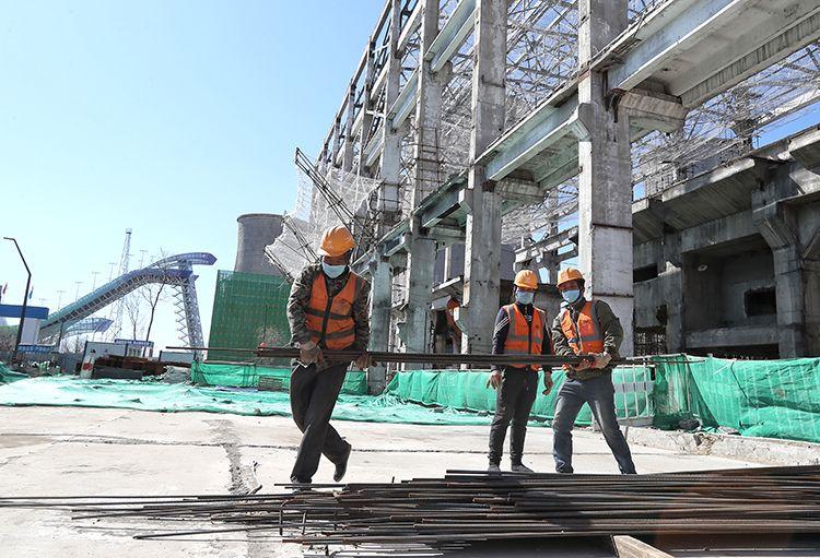 新首钢地区18个重点项目开复工图片