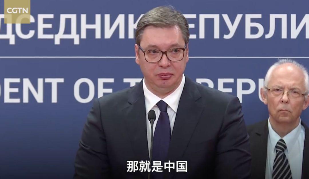 """塞尔维亚总统含泪求助,评论区留下了5万条""""暴躁""""喊话……"""