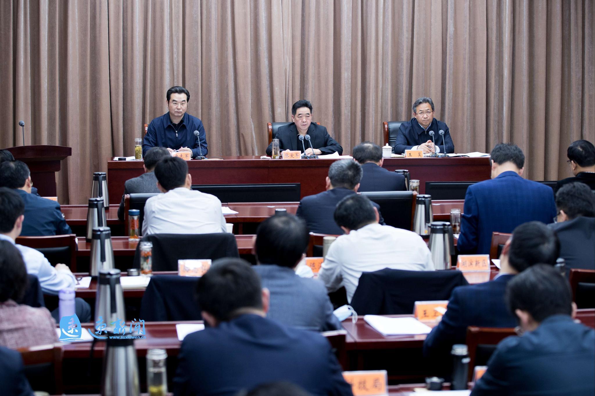张爱军:织密境外疫情输入防线,推动经济社会秩序全面恢复
