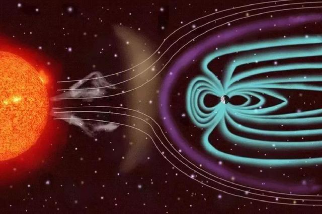 振幅比地球还大,太阳风撞击地球会引起湍流,湍流再引发浮力波