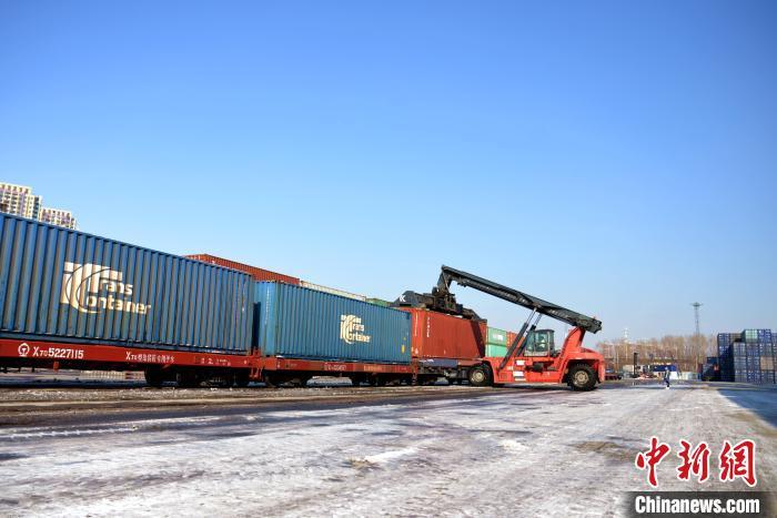 辽宁省中欧班列保持每周5列稳定