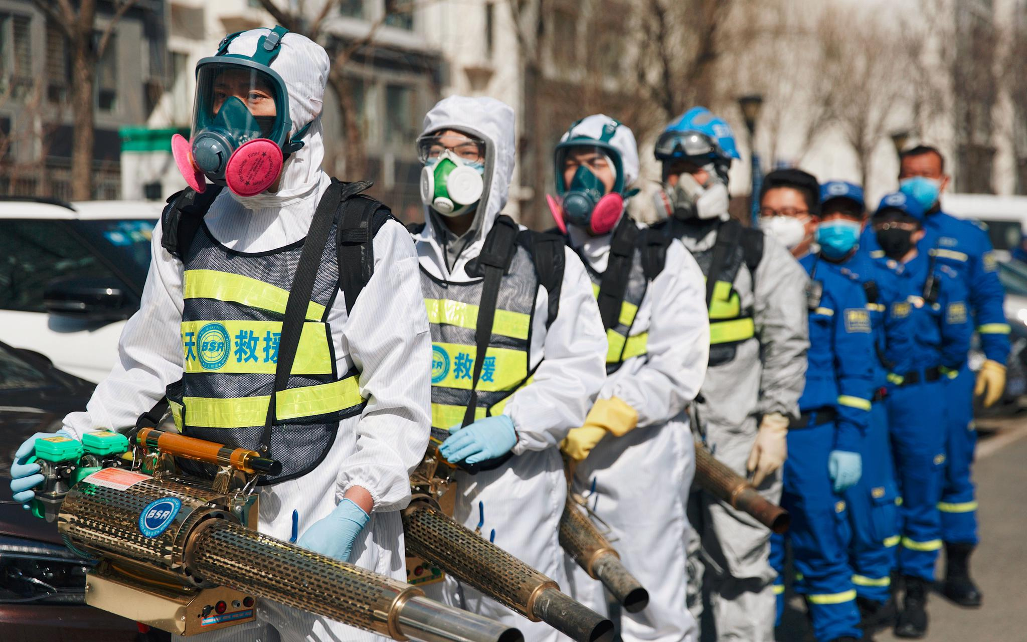 """疫情下北京志愿服务达60万人次,如何实现""""零感染""""?图片"""