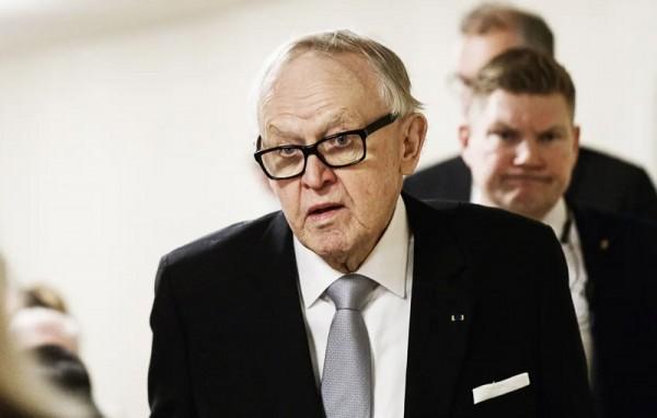 芬兰前总统确诊新冠