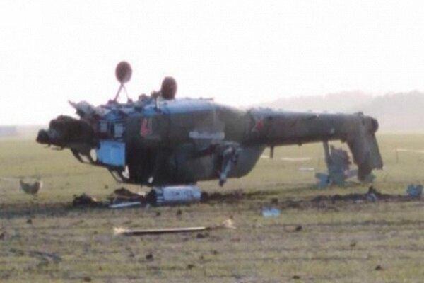伊朗伊斯兰革命卫队一直升机在西阿塞拜疆省坠毁