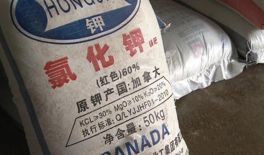 """南宁百吨假化肥及原料被查扣,涉及国内外多个""""名牌""""图片"""