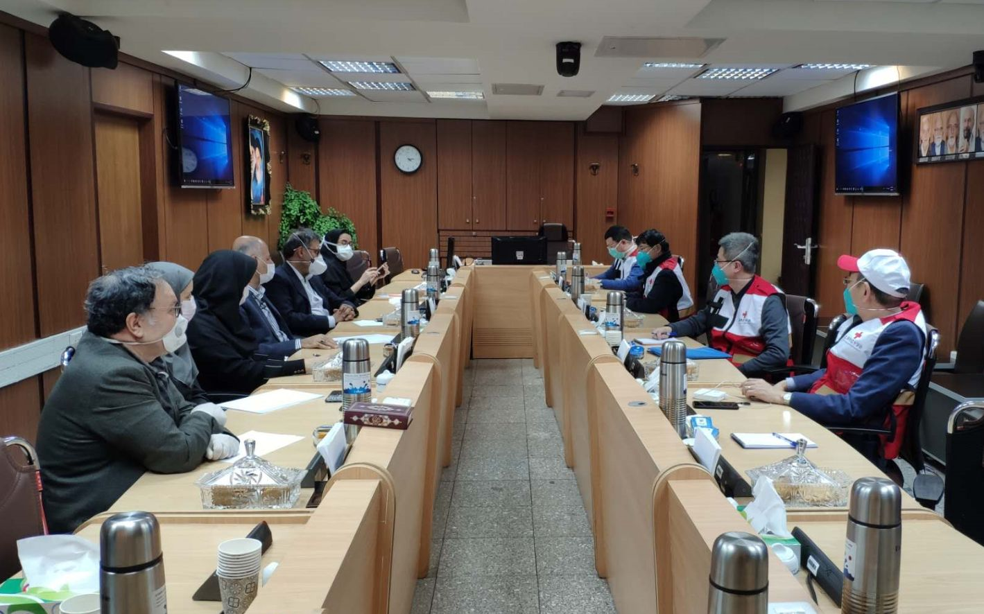 对话中国红会赴伊朗专家:他们好奇中国人缘何能宅14天图片