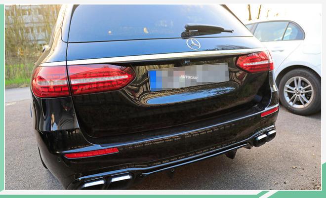 竞争奥迪RS6 新款AMG E63旅行版低伪谍照曝光