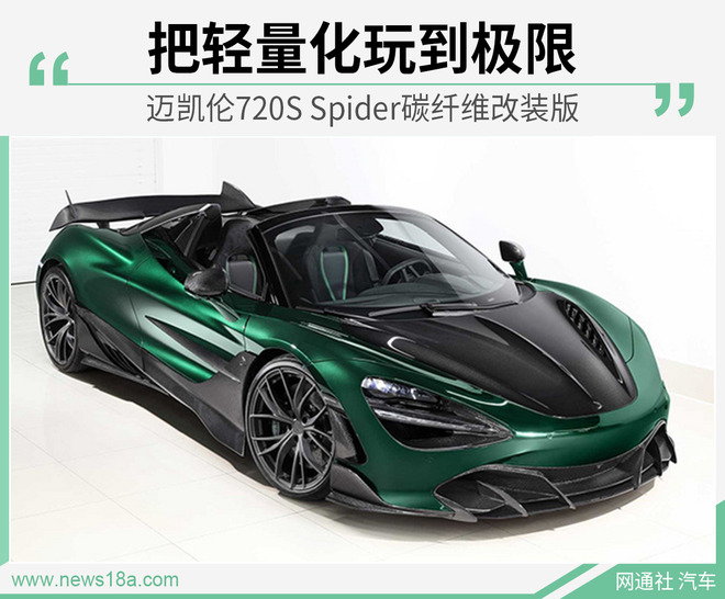 迈凯伦720S Spider改装版