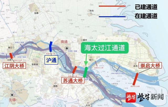 江苏又一公铁两用过江通道启动!