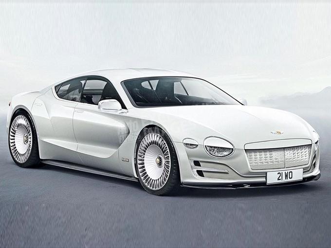 宾利第一款纯电动车就这么帅,续航500km+,看完决定攒钱了?