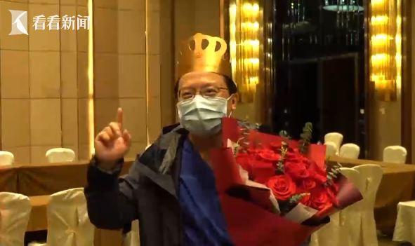 视频|驰援武汉迎来50岁生日 寿星医生许下三个愿望...图片