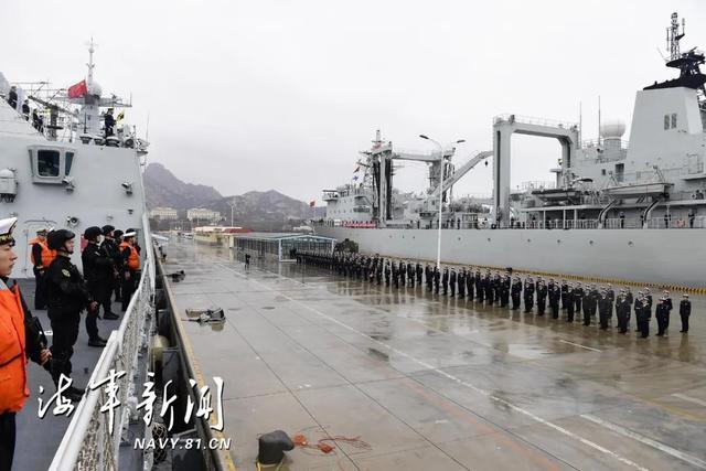海军第三十三批护航编队凯旋