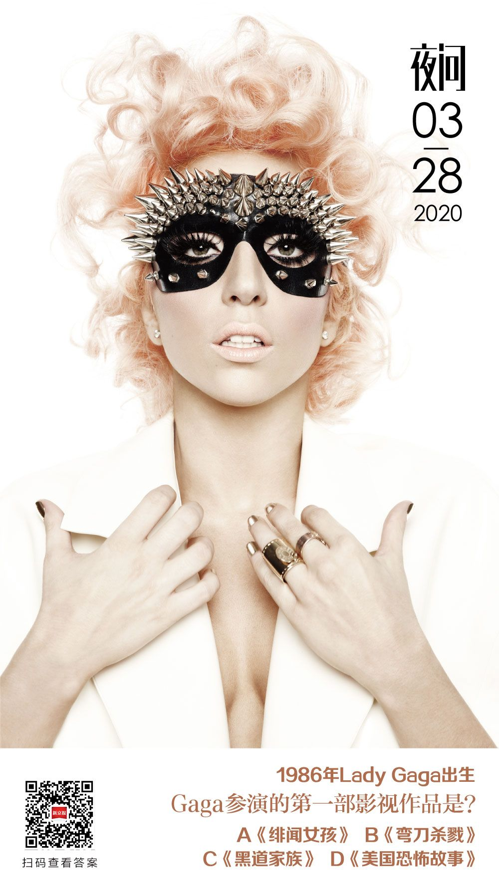 Gaga不会永远是小角色,不论歌坛还是影坛 | 夜问图片