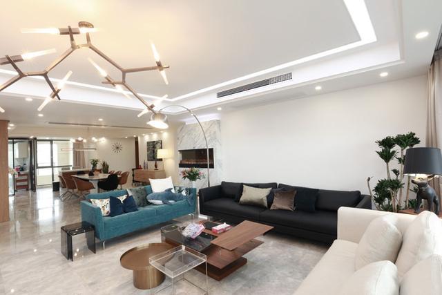 191平米的四居室装修价格是多少?半包34万能装修成什么效果?-钱江湾花园装修