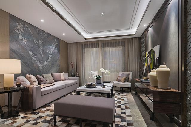 170平米的房这样装修好看100倍,中式风格惊艳众人!-陆家嘴壹号院装修