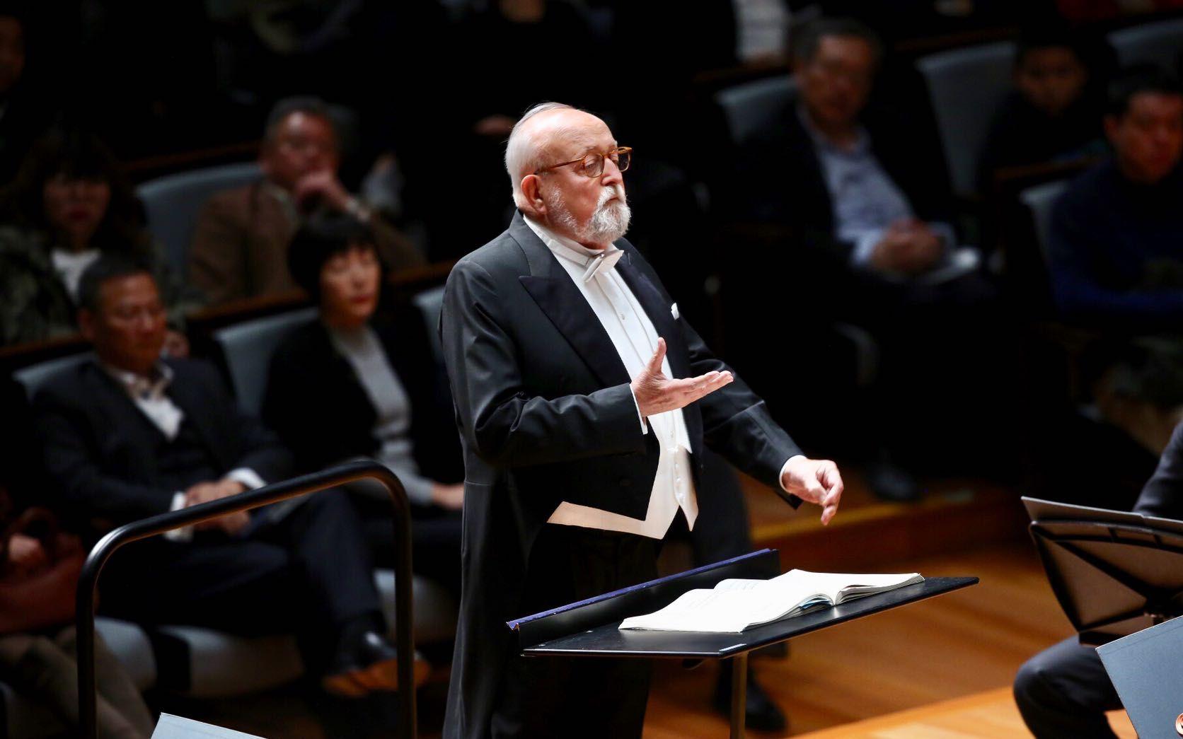 波兰作曲家、指挥家潘德列茨基去世,享年86岁图片