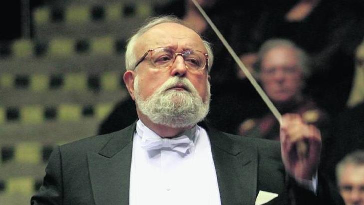 波兰著名作曲家、指挥家克里斯托夫·潘德列茨基去世