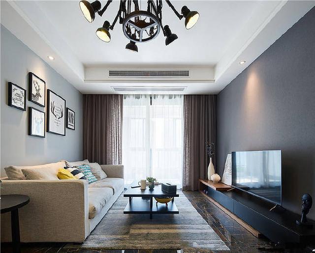83平米的三居室要怎么装修才出其不意,选择现代风格准没错!-中航翡翠城装修