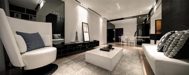 这套130平米的三居室,最后还是选定现代风格,效果竟远超预期-万科金域西岭装修