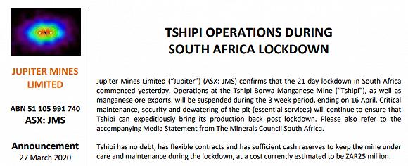 期货市场风云:南非禁令乍起,吹皱锰硅一池春水