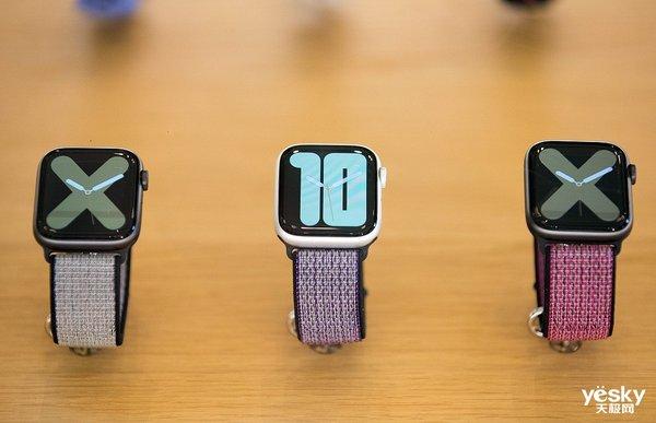 新款Apple Watch或将搭载屏下指纹识别