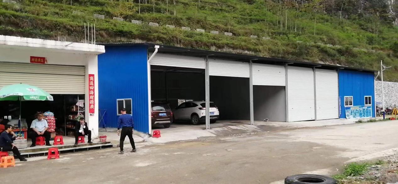 马山县:首个扶贫洗车场正式运营