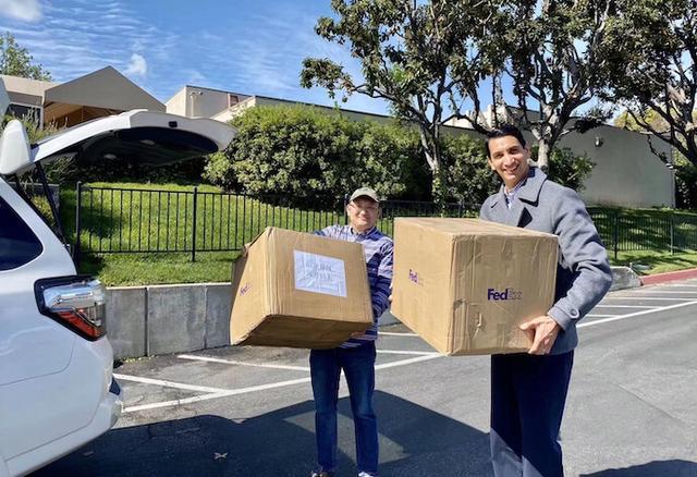 【同心抗疫】美国洛杉矶华人总商会捐赠防护用品