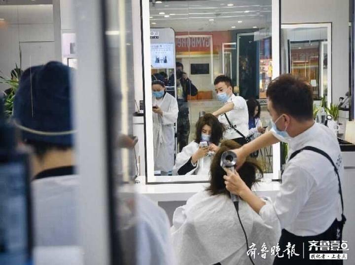 """市场主体复工率96.24%,济南市中区市场复苏重现""""烟火气"""""""