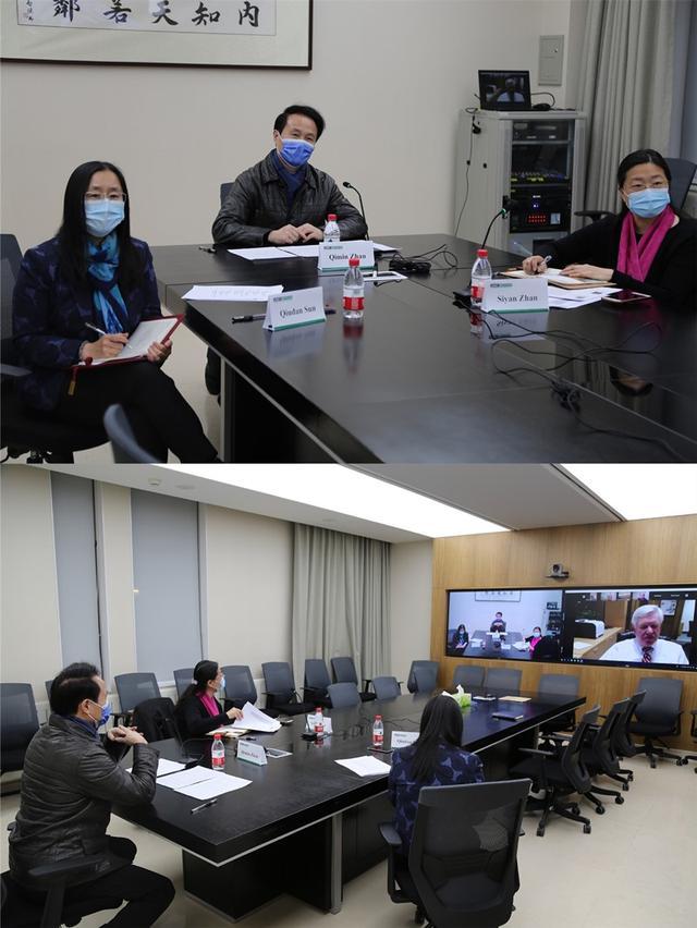携手抗疫 北京大学医学部向密西根大学医学院分享抗疫经验